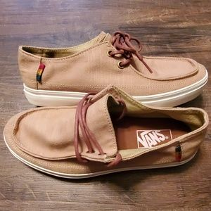 Vans Shoes - Vans Rata Vulc SF Hemp Rasta